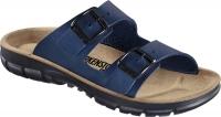 BIRKENSTOCK Professional 520811 + 520813, Modell Bilbao mit Weichbettung Soft Footbed, Birkoflor blau