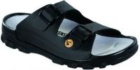 BIRKENSTOCK Professional 596040 + 596048 Pantolette Toulon ESD, schwarz Birko-Flor, Vegan