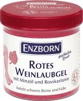 ENZBORN rotes Weinlaubgel, belebt schwere Beine und Füße, 200 ml