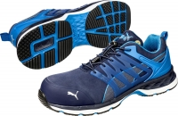 PUMA Arbeitsschuhe Motion Protect VELOCITY 2.0 blue low  643850, S1P, ESD Gr. 48 --SONDERPREIS--