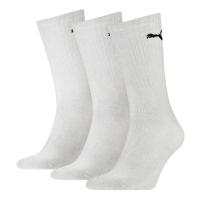 PUMA Sport Socken Tennissocken, weiß, 3er-Pack, Staffelpreise