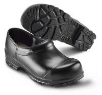 SIKA FLEX 88, Sicherheits-Clogs mit Stahlkappe S2,  breite Form, Leder schwarz