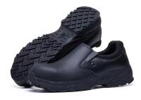 Shoes for Crews, rutschfeste Slipper Sicherheitsschuhe BRANDON 76640 schwarz S3