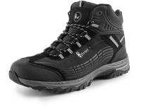 CXS SPORT black/grey high, ultraleichte Softshellschuhe Outdoorschuhe Wanderschuhe für Herren, atmungsaktiv und wasserabweisend
