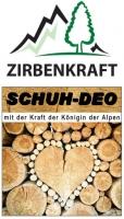 ZIRBENKRAFT® hoch wirksames, natürliches Schuhdeo